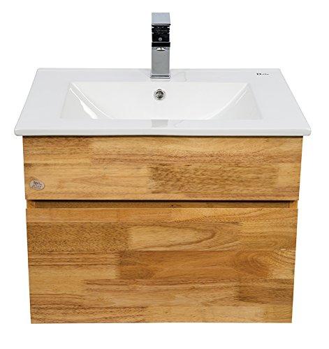 sports shoes 2ef5b c5c5e Dazzle Kitchen Modular BWR Plywood Vanity Washbasin Cabinet, 61x46x45cm,  Rubber Wood